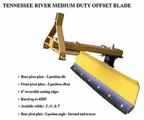 Tractor Offset Blade
