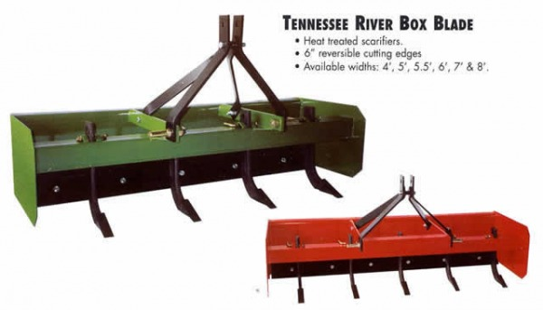 Tennessee River Tractor Box Blade